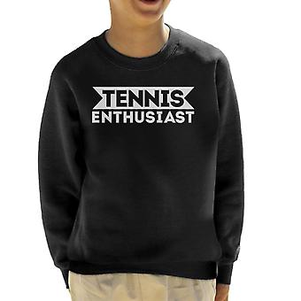 Tennis Enthusiast Kid's Sweatshirt