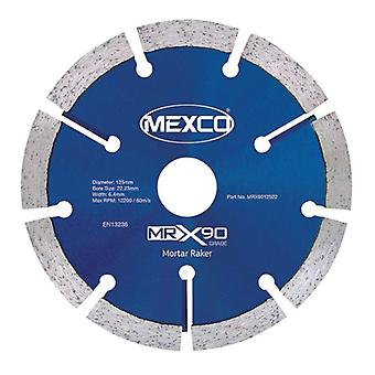 Mexco 125Mm Mortar Raker X90 Grade Diamond Blade
