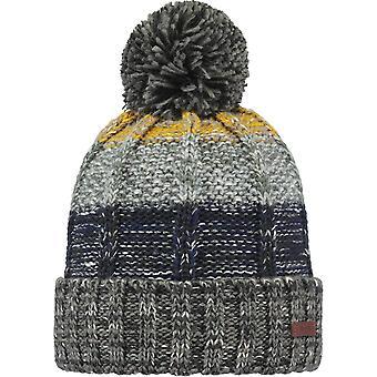 Barts Vista Bobble Hat in Dark Grey