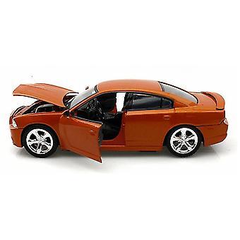 MotorMax 2011 Dodge Charger R/T Orange  1:24