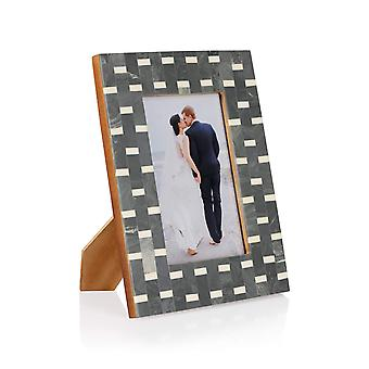 Penguin Home Handcrafted Monochrome photo frame