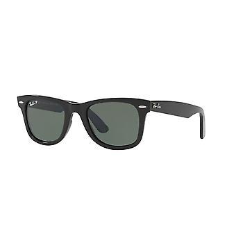 Ray-Ban nya original Wayfarer RB4340 601/58 svart/polariserade gröna solglasögon