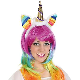 Headband Unicorn Unicorn Panel accessory