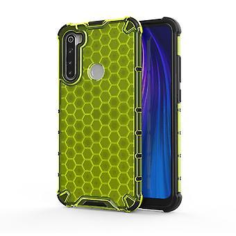 Für Xiaomi Redmi Note 8 Silikon Case Schock Hybrid TPU Schutz Grün Tasche Hülle Cover Etui Zubehör Neu