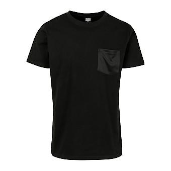 Urban Classics Men's T-Shirt Modal Mix Pocket