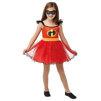 Girls Incredibles 2 Tutu Fancy Dress Costume