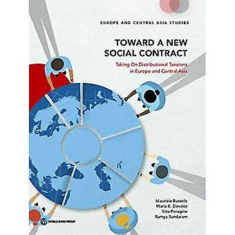 Gegenüber einem neuen Gesellschaftsvertrag: Übernahme von Verteilungswirkungen Spannungen in Europa und Zentralasien