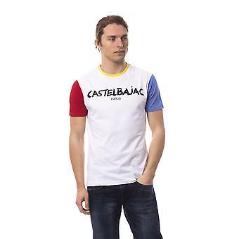 Multicolour Castelbajac men's short-sleeved T-shirt