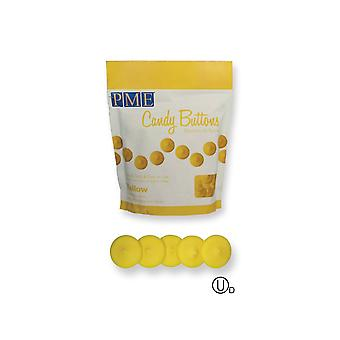 PME Candy Buttons Melts - 12oz 340g - Yellow