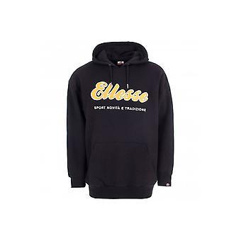 Ellesse Amideo Oh Cotton Oversized Black Hoodie