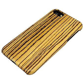 لفون SE (2020)، 8 و 7 حالة، حمار وحشي طبيعي دائم غطاء خشبي واقية عالية الجودة