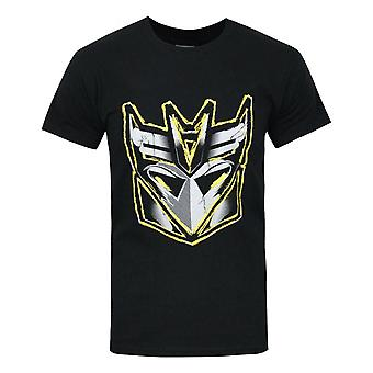 Transformers Decepticon Metallic Logo Men's T-Shirt