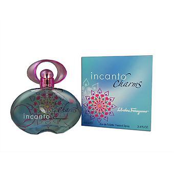 Incanto charms for women by ferragamo 3.4 oz eau de toilette natural spray