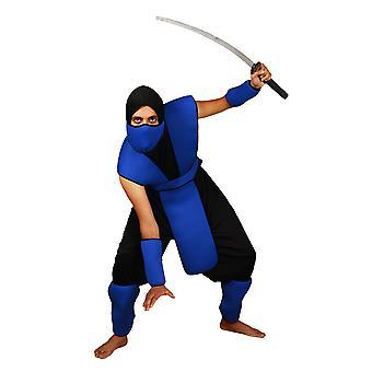 Blue Sneaky Ninja Costume