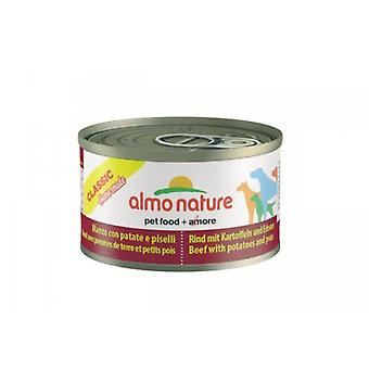 Almo nature Classic Beef & Potatoes & Peas (Dogs , Dog Food , Wet Food)