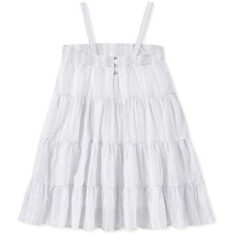 Calvin Klein Big Girls' Sleeveless Fashion Dress, White, XL16