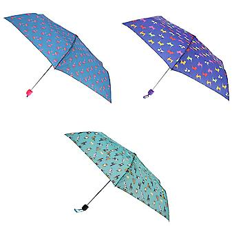X-Brella Ladies/Women Colour Print Short Canopy Compact Umbrella