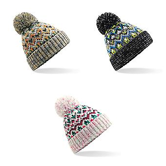 Beechfield Unisex Adults Blizzard Winter Bobble Hat