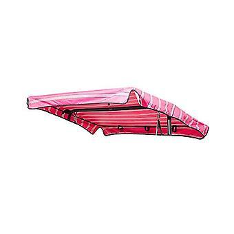 Wasserbeständige 2 Sitzer Ersatz Baldachin nur für Swing Sitz/Garten Hängematte in rosa Streifen Design