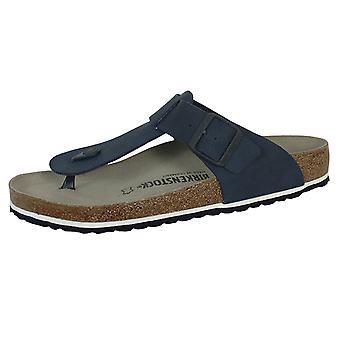 Birkenstock medina men's desert soil blue sandals