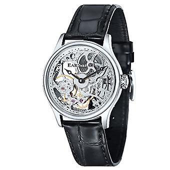 Montre de poignet de Thomas Earnshaw ES-8049-01 masculine, bracelet en cuir, noir