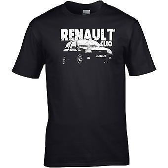 Renault Clio Classic - Car Motor - DTG Printed T-Shirt