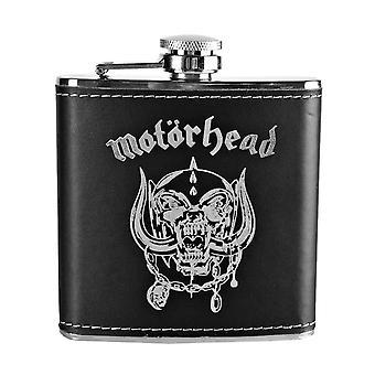 Motorhead Hip Flask Warpig Skull Band Logo new Official Black Metal