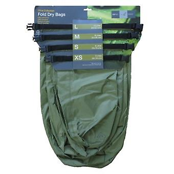 Exped Fold Drybag Olive 4 Pack (X-Small - Large) - Olive