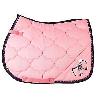 Horka Jolly General Purpose Saddlepad - Rose Pink