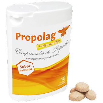 Eladiet Propolag for the throat 40 tablets
