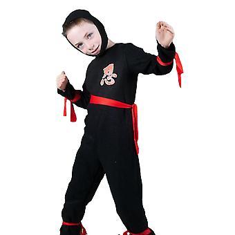 Children's costumes Boys Ninja boy black