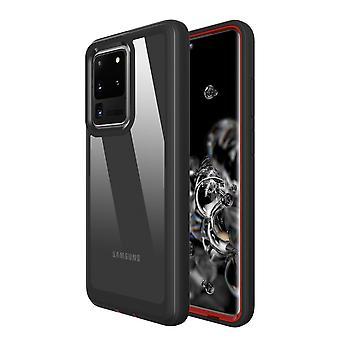 Samsung Galaxy S20 erittäin vahva erittäin raskaan suojakannen musta