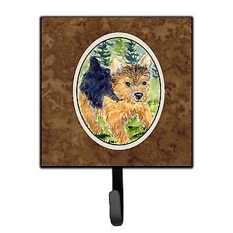 Carolines Treasures  SS8907SH4 Norwich Terrier Leash Holder or Key Hook