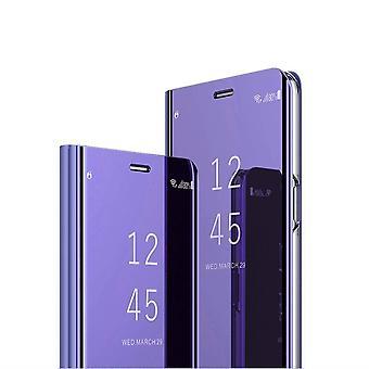 FONU Clear View Hoesje Samsung Galaxy S21 - Zilver