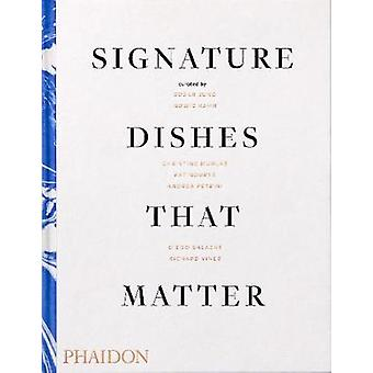 Signature Dishes That Matter par Mitchell Davis - 9780714879321 Livre
