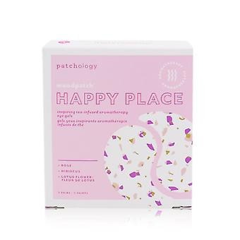 Patchology Moodpatch - Happy Place Inspiring Tea-Infused Aromatherapy Eye Gels (Rose+Hibiscus+Lotus Flower) 5pairs