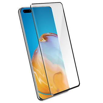 4Smarts Huawei P40 Tempered Glass clear Shockproof Screen protector - Black