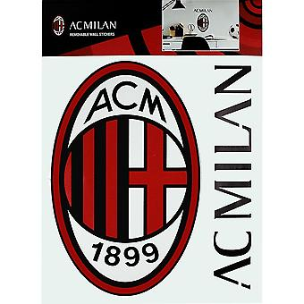 AC Milan A4 Wall Stickers (Set of 2)