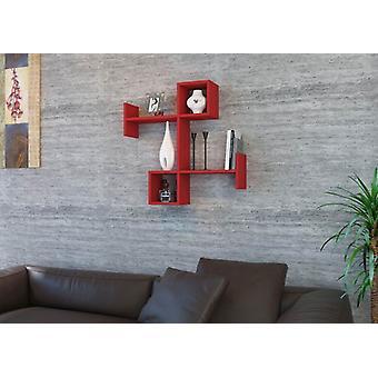 Rød Burc Reparere i Melaminic Chip 85.4x19.5x83.6 cm