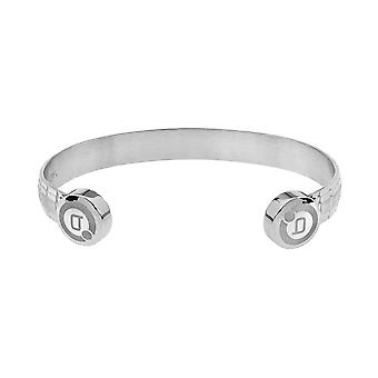 Lux Double Finish Magnetic Bangle (Size: Small 130-150mm)