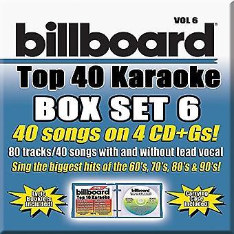 Party Tyme Karaoke - Billboard Top 40 Kar [CD] USA import