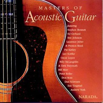 Masters of Acoustic Guitar - Masters of Acoustic Guitar [CD] USA import