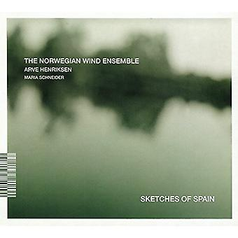 Norwegian Wind Ensemble - Schetsen van Spanje [CD] USA import