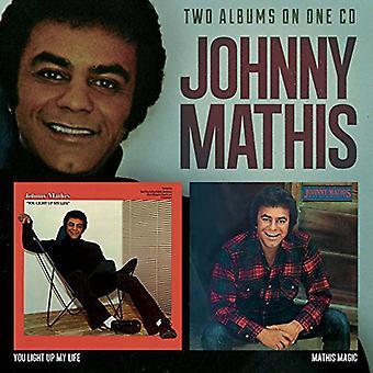 Johnny Mathis - You Light Up My Life / Mathis Magic [CD] USA import