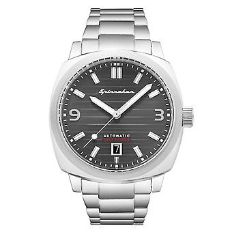 Spinnaker SP-5073-11 Gent's Hull Grey Dial Wristwatch