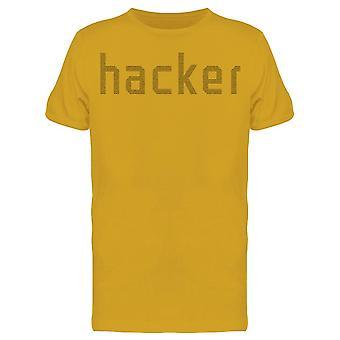 Hacker Graphic Tee Men's -Image di Shutterstock
