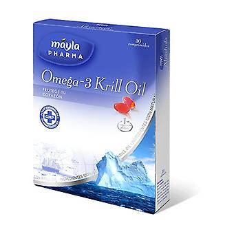Huile de Krill Oméga 3 30 capsules