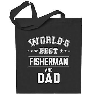 Maailman paras kalastaja ja isä Totebag