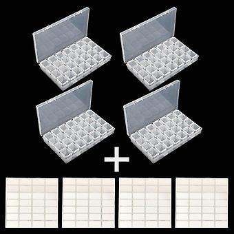 Cross Stitch Cases Storage Organizer - Lattices Diamond Embroidery Accessories