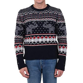 Thom Browne Mka311a00278960 Men's Multicolor Wool Sweater